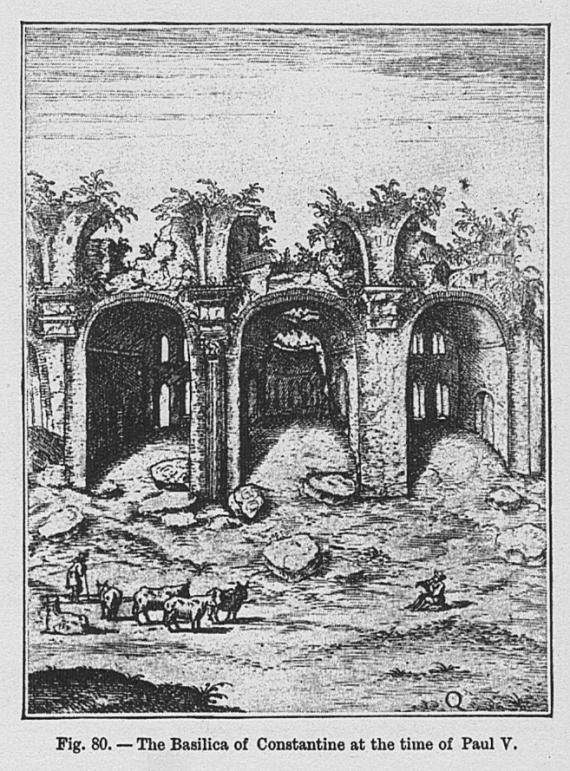 RG Cameron Sep 19 illo #2 'Basilica Constantine'