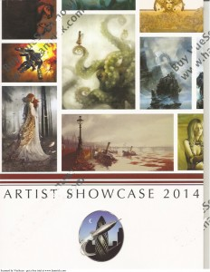 LonCon3 Artist Showcase 2014 featuring the biographies and works of artists participating in the Art Show