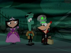 phineas ferb monsters