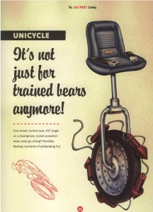 ACME Unicycle