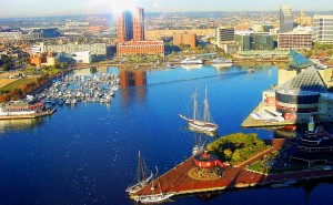 Baltimore Inner Harbor Copyright Loves Photo Album