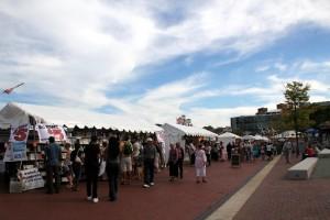 Baltimore Book Festival Tents Copyright  Baltimore Arts