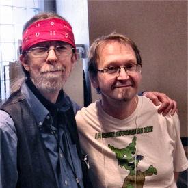 Figure 1 - Spider Robinson and Don DeBrandt