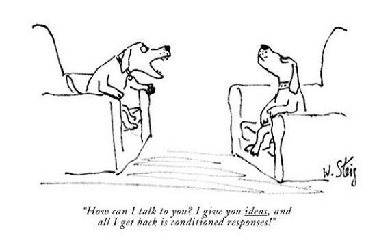 Figure 2 - New Yorker William Steig cartoon ©New Yorker Magazine