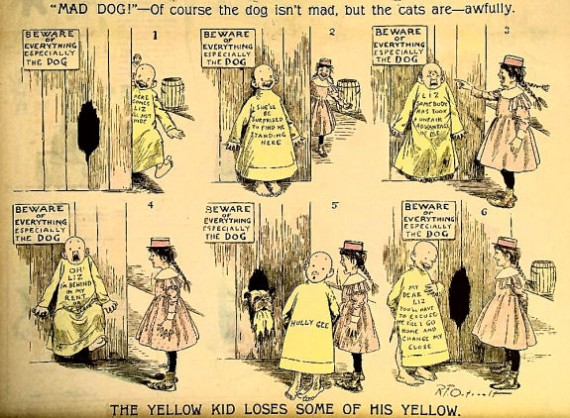 Figure 5 - Hogan's Alley Yellow Kid (out of copyright)