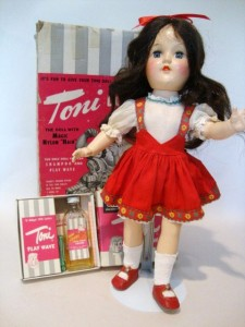 Toni Dolls, a favorite of little girls c. 1049-1953