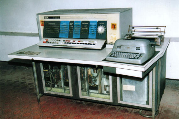 Figure 2 - IBM 1620 with teletype output