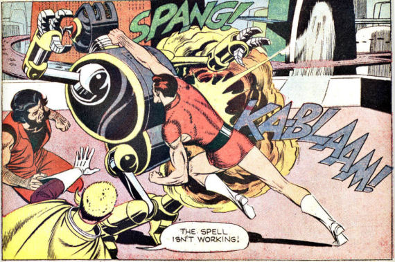 Figure 3 - Russ Manning's Magnus, Robot Fighter