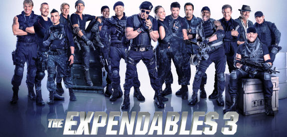 Figure 4 - The Expendables 3 Poster