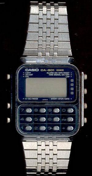Figure 5 - Casio Game watch circa 1980-ish
