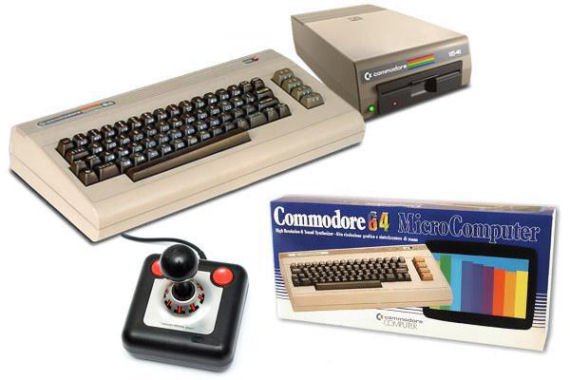Figure 6 - Commodore 64 with disk drive