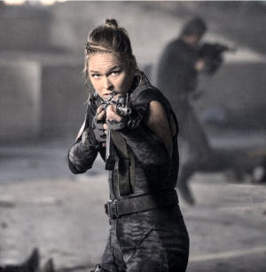 Figure 6 - Ronda Rousey as Luna