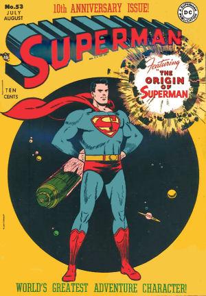 Figure 8 – Wayne Boring Superman comic cover