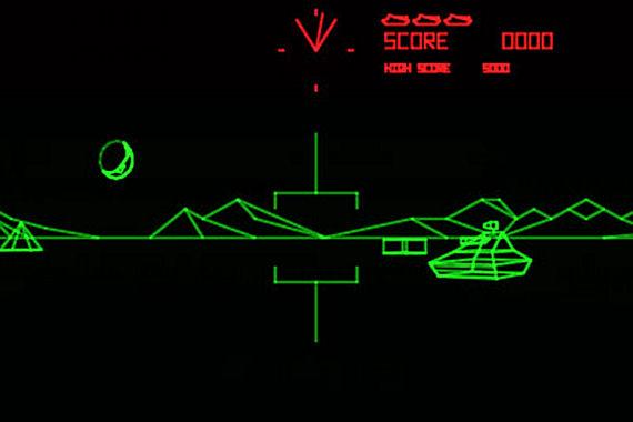 Figure 8 - Battlezone screen