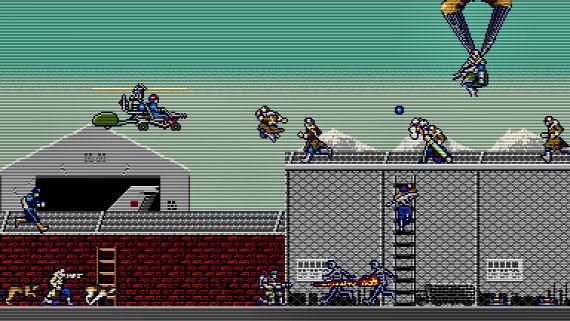 Figure 9 - Rush'n Attack Screen