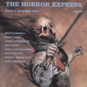 Britty Scary: Interview with March Shemmans of the UK's Horror Express Magazine
