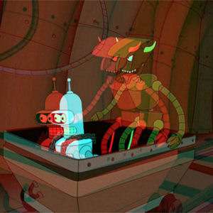 Figure 1 - Bender & Robot Devil from Futurama