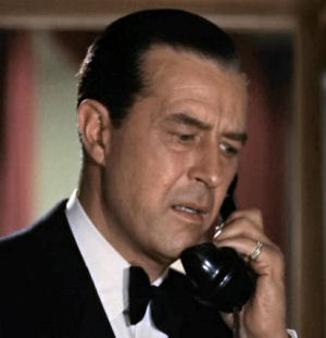 Figure 10 - Ray Milland in Dial M for Murder - full colour anaglyph