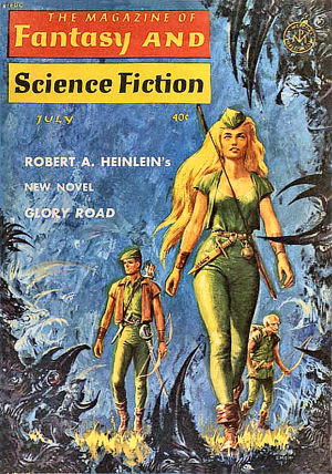 Figure 11 - Ed Emshwiller - Glory Road F&SF cover