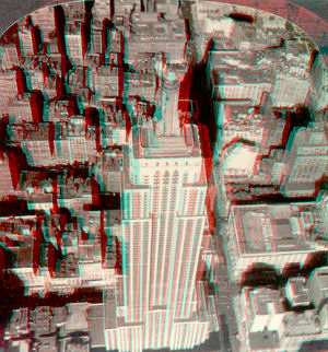Figure 6 - Empire State Building Stereoscope View