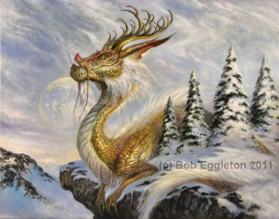 Figure 7 - Bob Eggleton - Winter Dragon