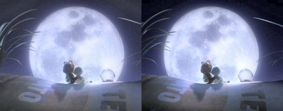 Figure 9 - Fly Me to the Moon 3d