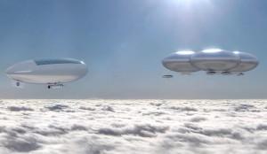 NASA's vision of living on Venus.