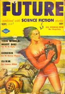 Future Combined with Science Fiction Stories, Sept 1951