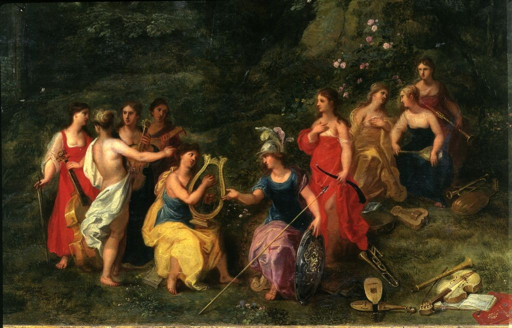 Balen_Minerva_among_the_Muses_(detail)