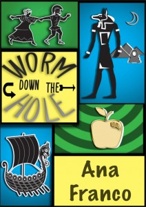 Down the Wormhole by Ana Franco - cover