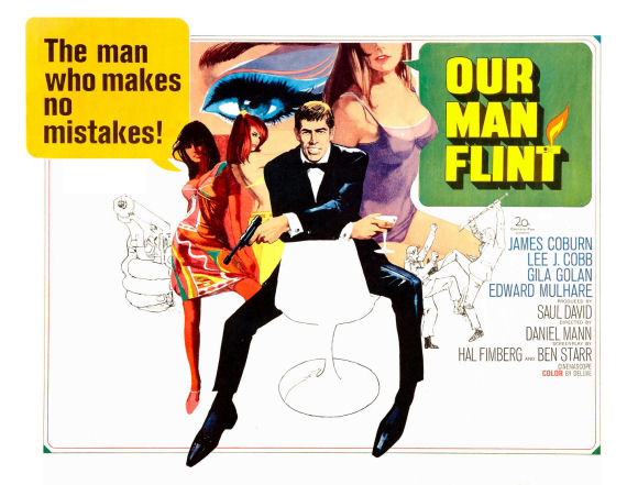 Figure 2 - Our Man Flint One-Sheet poster
