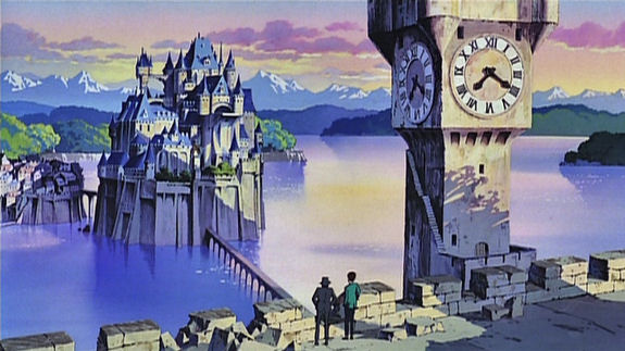Figure 2 - The Castle of Cagliostro - Arsène Lupin in green jacket