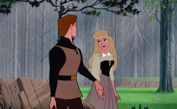 Figure 5 - Aurora & Phillip from Disney's Sleeping Beauty