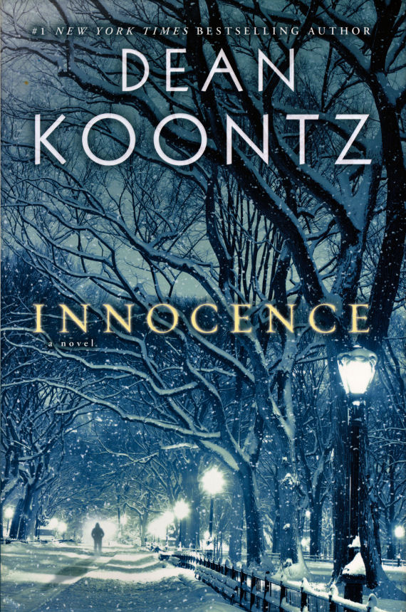 Figure 5 - Innocence by Dean Koontz Hardcover jacket