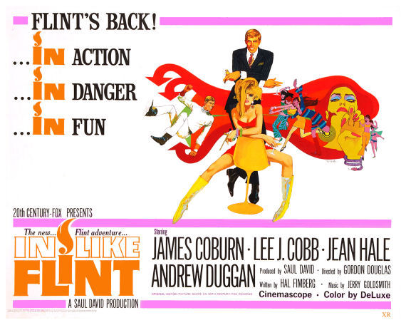 Figure 6 - In Like Flint poster