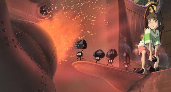 Figure 7 - Chihiro and soot balls
