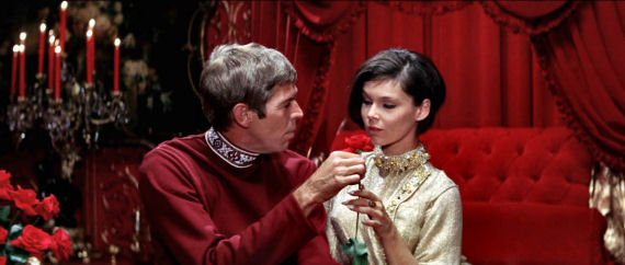 Figure 7 - Flint and Natasha (Yvonne Craig)