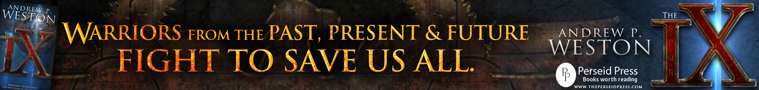 perseid press full banner ad for the IX