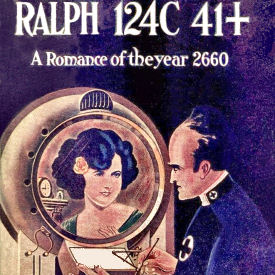 Figure 1 - Ralph124C 41+ Dustjacket (cropped) by Frank R. Paul