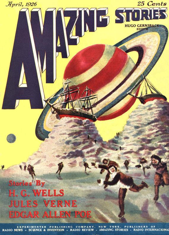 Figure 2 - Amazing Stories Vol 1 No 1 April 1926
