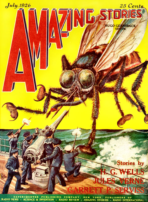 Figure 2 - Amazing Stories Vol 1 No 4 Cover