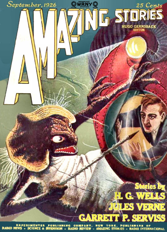 Figure 4 - Amazing Stories Vol 1 No 6 Cover