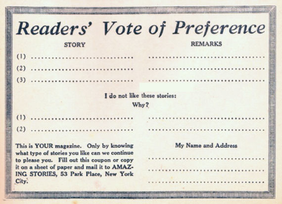 Figure 5 - Reader Preference Coupon
