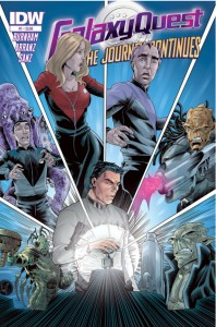 Galaxy Quest issue #1 cover