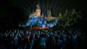 The Harry Potter theme park opens in Japan.