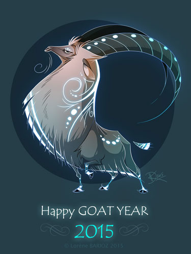 Happy Year of the Goat