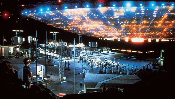 The breathtakingly beautiful climax of Steven Spielberg's Close Encounters of the Third Kind