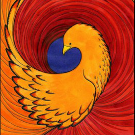 Asni's Art Blog: Firebird