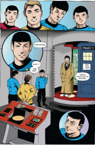 5 Doctor on the Enterprise - Lettered - Page 3