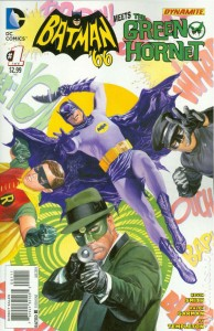 Batman 66 Meets the Green Hornet issue 1 cover